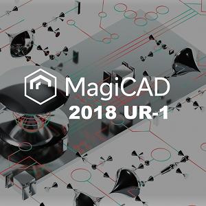 MagiCAD 2018.1