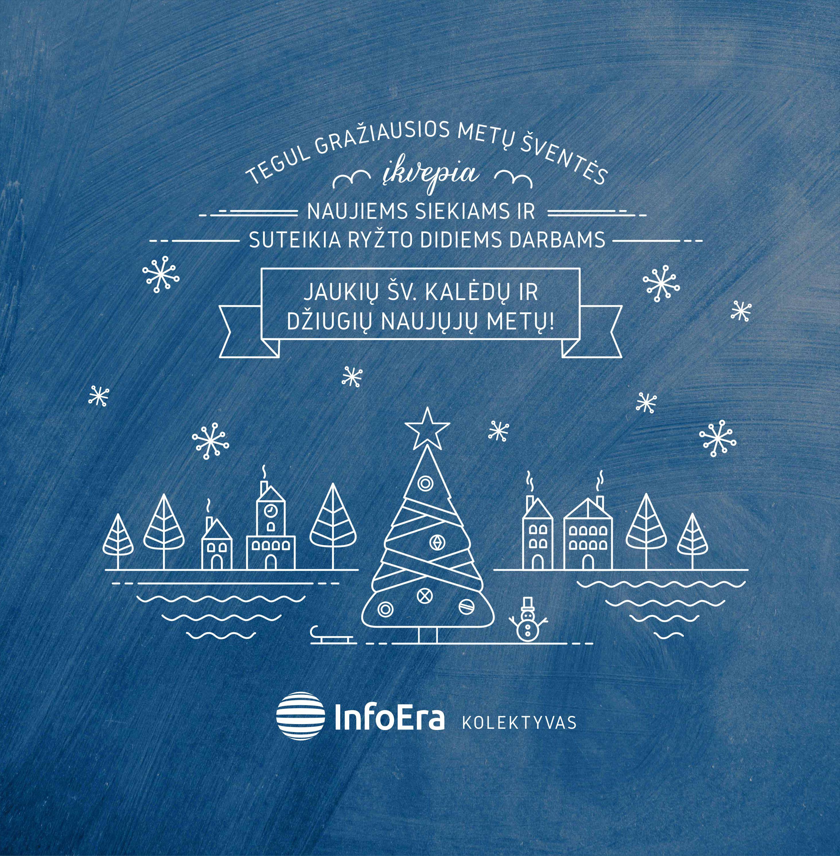 InfoEra kalėdinis sveikinimas