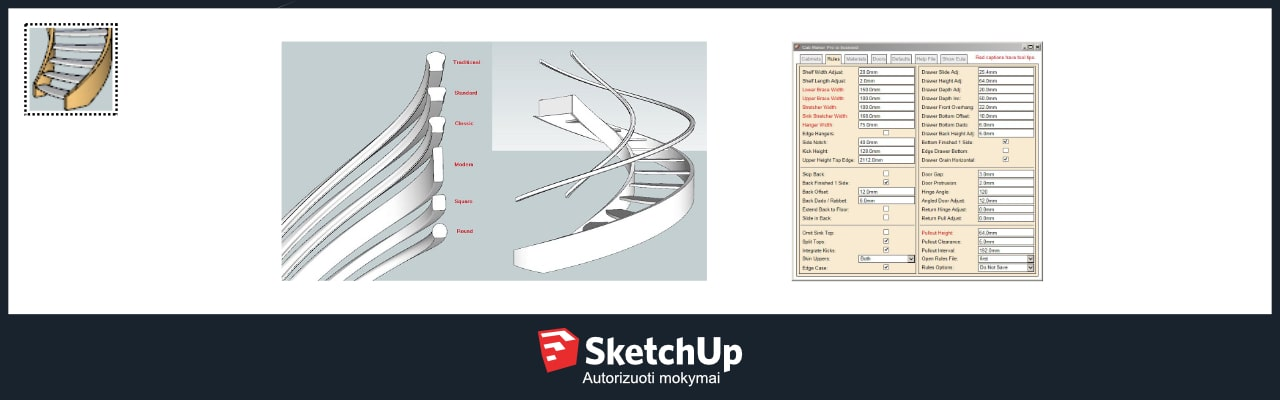 Stairmaker Sketchup 2016 - Photos Freezer and Stair Iyashix Com