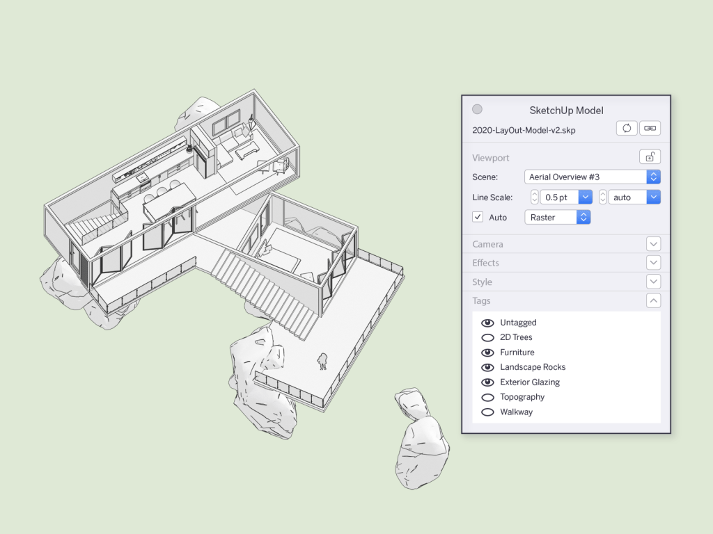 Sketchup pro 2020 layout atnaujinimai
