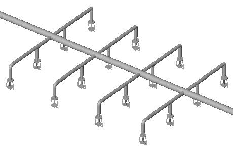 MagiCAD 2021 - Sprinkler connection funkcionalumas