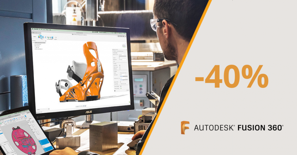 akcija Autodesk fusion 360