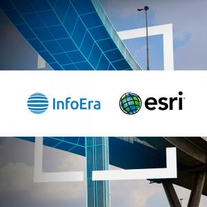 InfoEra-esri-bendradarbiavimas