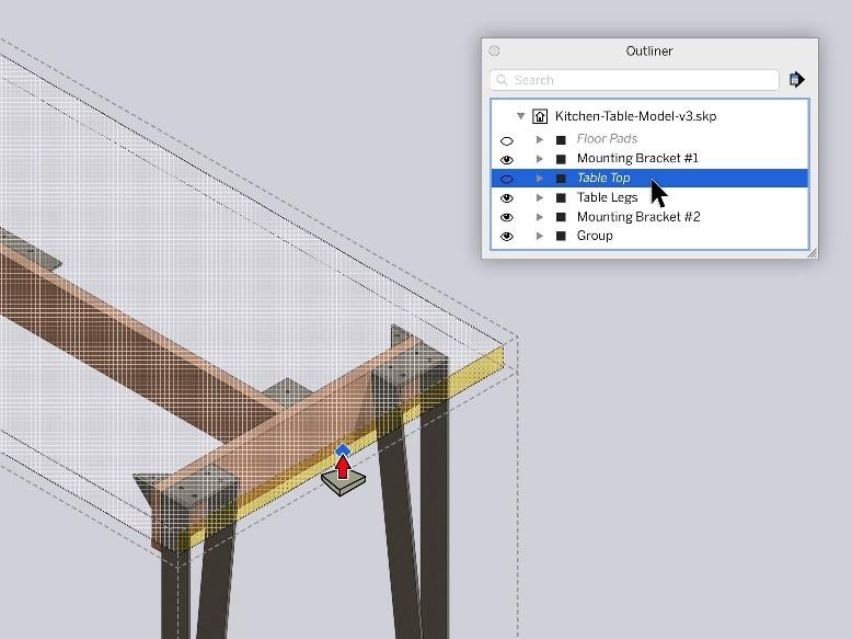Paslėpta-geometrija-SketchUp-2021-atnaujinimas